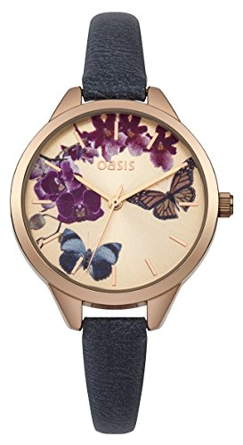 Oasis Damen Armbanduhr Analog Quarz B1541