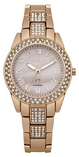 Oasis Damen Armbanduhr Analog Quarz B1552