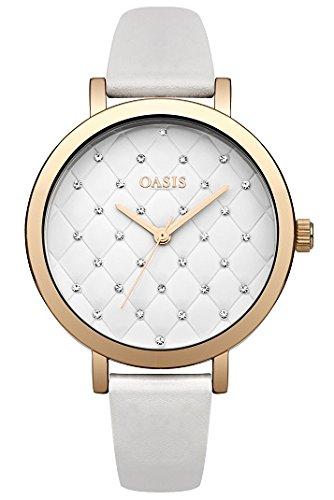 Oasis Damen Armbanduhr Analog Quarz B1575