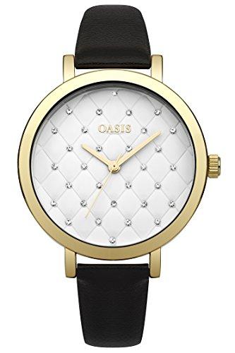 Oasis Damen Armbanduhr Analog Quarz B1577