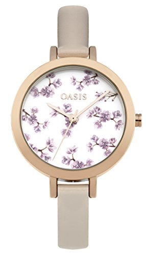 Oasis Damen Armbanduhr Analog Quarz b1578