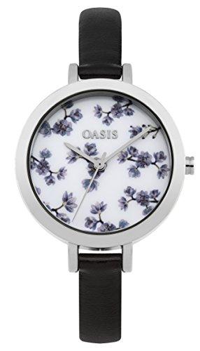 Oasis Damen Armbanduhr Analog Quarz b1579