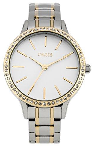 Oasis Damen Armbanduhr Oasis Ladies Watch Analog Quarz B1565