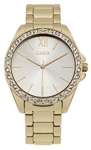 Oasis sb006gm Gold Kristall Armband Armbanduhr