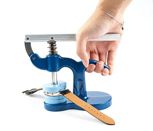 Gehaeuseschliesser Einpresswerkzeug Uhrendeckelpresse Deckelpresse Uhrenwerkzeug Deckelschliesser Bodenschliesser