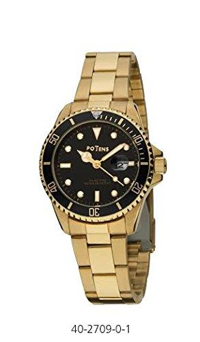 Uhr Potens Damen 40 2709 0 Stahl vergoldet