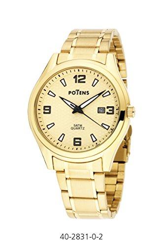 Uhr Ritter vergoldet