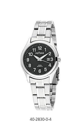 Uhr Frau Potens Box und Armband Edelstahl
