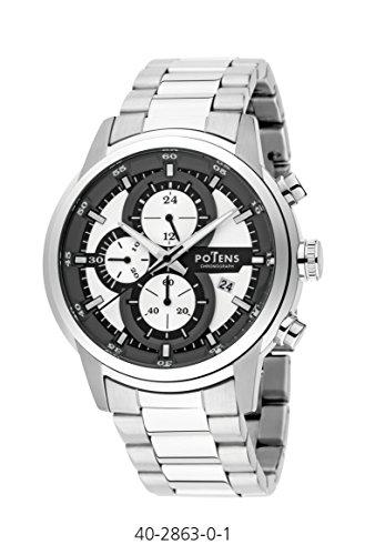Uhr Ritter Box und Armband Stahl Crono