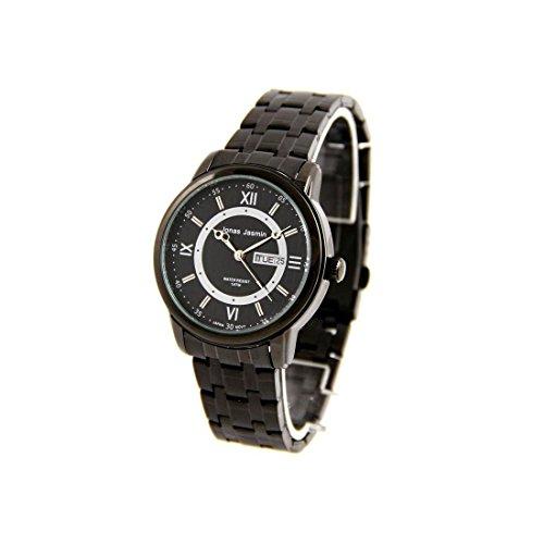 Zeigt Herren Trend Armband Stahl schwarz Jonas 2584