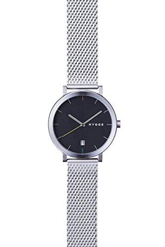 Hygge Unisex Armbanduhr 2203 Analog Edelstahl Silber MSM2203C CH