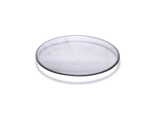 100 sortiert Armbanduhr und Pocketwatch Mineral Kristall Glas Kuppel Groessen 41 bis 50 mm