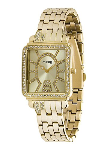 Moog Paris G T gold aus Edelstahl Armband Gold aus Edelstahl in Frankreich hergestellt M44974 102