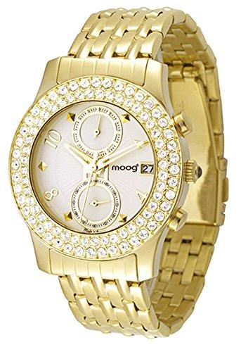 Moog Paris Heritage gold aus Edelstahl Armband Gold aus Edelstahl in Frankreich hergestellt M45554 002