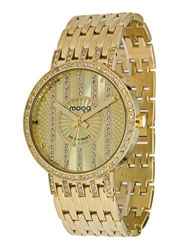 Moog Paris Look at me gold aus Edelstahl Armband Gold aus Edelstahl in Frankreich hergestellt M45284 102