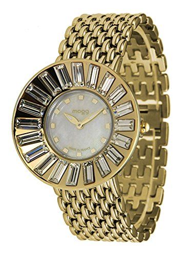 Moog Paris Sunshine gold aus Edelstahl Armband Gold aus Edelstahl in Frankreich hergestellt M45344 003