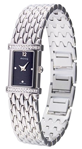 Moog Paris Vintage Silber aus Edelstahl Armband Silber aus Edelstahl in Frankreich hergestellt M48144 301