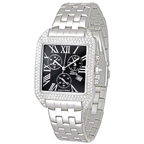 Moog Paris Think Different Silber aus Edelstahl Armband Silber aus Edelstahl in Frankreich hergestellt M44274F 001