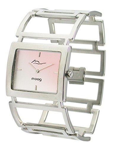 Moog Paris Aerienne Silber aus Edelstahl Armband Silber aus Edelstahl in Frankreich hergestellt M46024F 003
