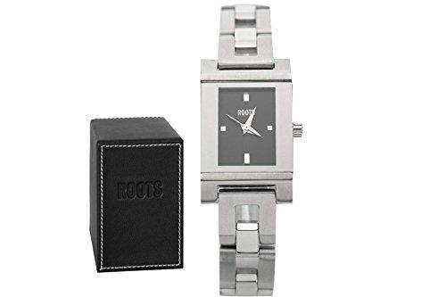 Uhr Damen Armbanduhr ROOTS Reflection R673XBLK Edelstahl Qua
