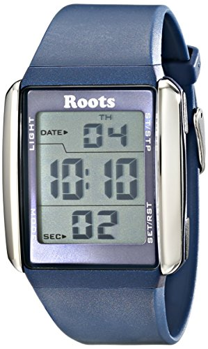Wurzeln Herren 1r at104bu1u Seymour Digital Display Quarz blau Armbanduhr