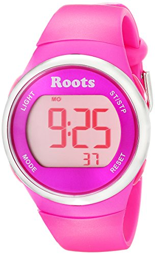Wurzeln Damen 1r at405pi1p Cayley Digital pink Sport Armbanduhr