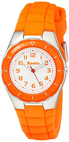 Wurzeln Damen 1r at425or1o Saturna Analog Display Analog Quarz Orange Armbanduhr