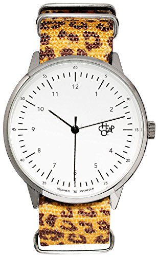Cheapo Harold Leopard Uhr