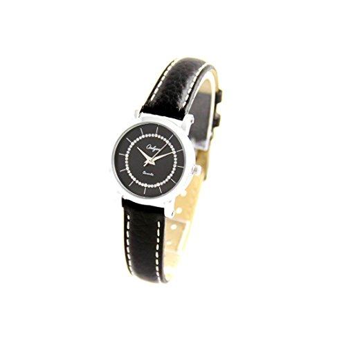 Armband Leder schwarz Onlyou 2308