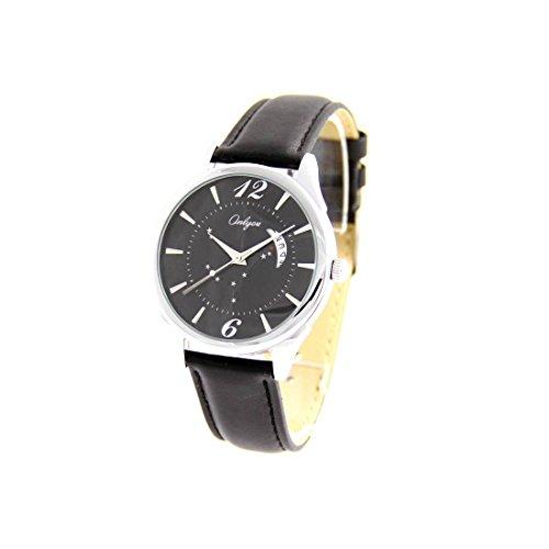 Zeigt Damen Armband Leder schwarz Onlyou Etoiles 2365