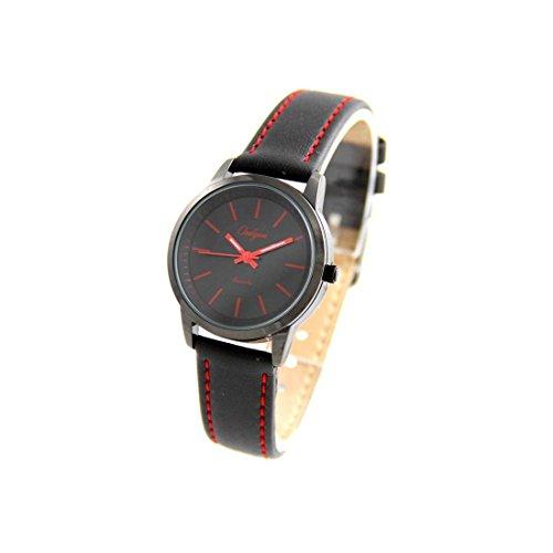 Zeigt Damen Leder Armband Schwarz Onlyou 947