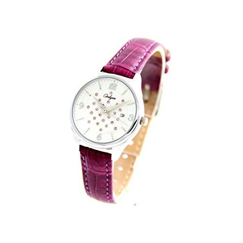 Zeigt Damen Armband Leder violett Onlyou 2420