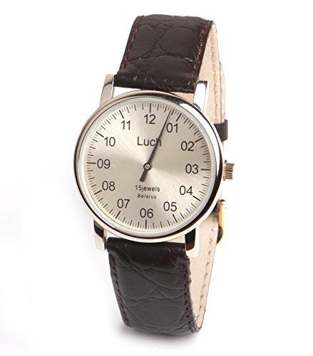Mittagessen Handwinding Einhand Armbanduhr 337477761