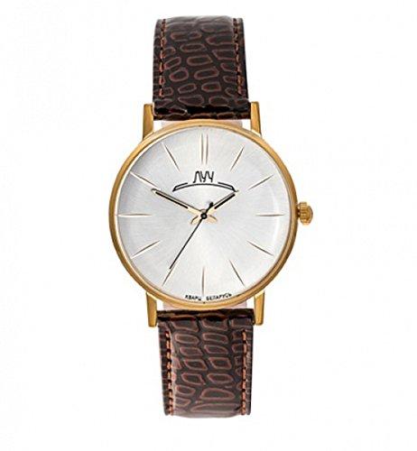 Luch Retro Auflistung Herren Armbanduhren Weinlese Neuheit Quarz russische Kombiniertes Gold Logo auf Kyrillisch 31618733