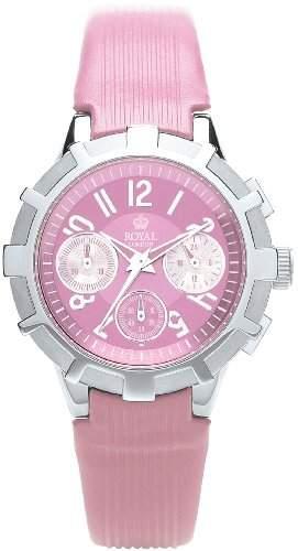 WomenRoyal London Damen-Armbanduhr Chronograph Lederband 20123-03 Pink