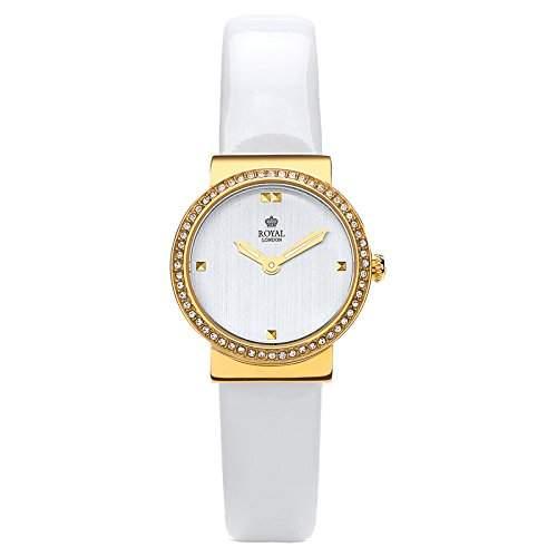 Royal London Ladies Dress Damen-Armbanduhr analog Lederarmband 21251-08