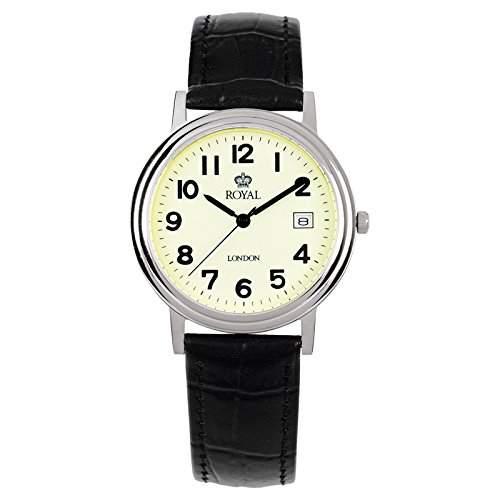 Royal London Gents Classic Herren-Armbanduhr Datum analog 40001-03