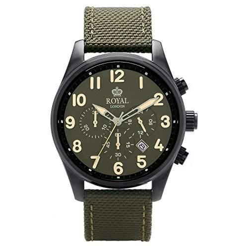 Royal London Gents Chronograph Herren-Armbanduhr analog 41201-05