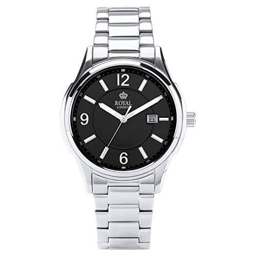 Royal London Gents Classic Herren-Armbanduhr Datum analog 41222-06