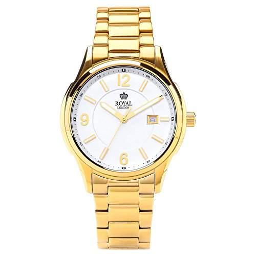 Royal London Gents Classic Herren-Armbanduhr analog Datum 41222-07