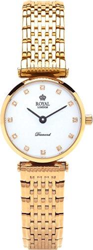 Royal London Ladies Classic Diamanten Quarz 21340 05