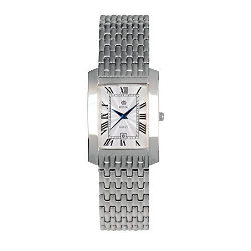 WB 11675 Royal London 20018 05 klassische Edelstahl Armbanduhr fuer Damen mit Datumsanzeige