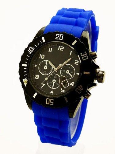 NERD London Herren Chrono Royal Blau K66