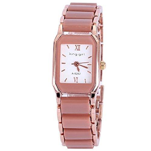Rose vergoldet reloj mujer keramische Frauen Kleid Uhren Luxus Mode Damen 8 Farben hochwertiges