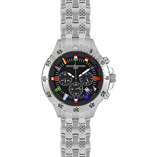 ROCCOBAROCCO Armbanduhr Chronograph Herren Sport Trendy Cod rbs0006