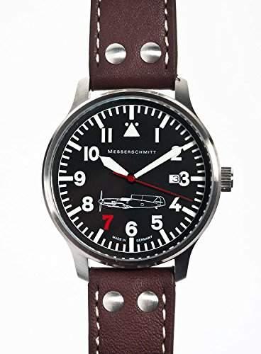 Messerschmitt Uhr aus Edelstahl 109-42R7