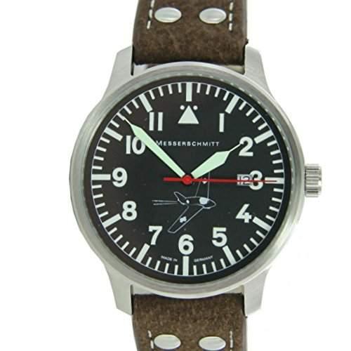 Aristo Herren Messerschmitt Uhr Fliegeruhr 163-42S
