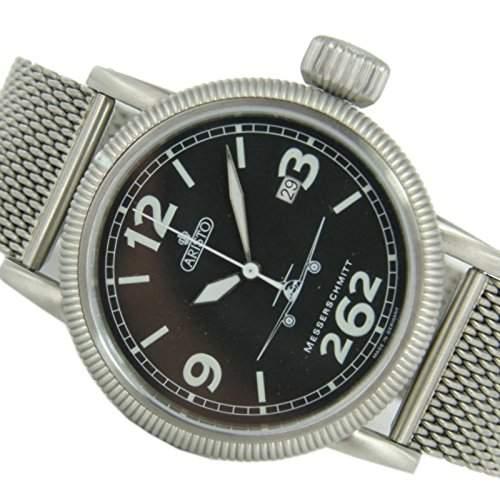 Aristo Herren Messerschmitt Uhr Fliegeruhr - Automatik 3H262-TT