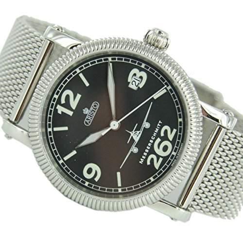 Aristo Herren Messerschmitt Uhr Fliegeruhr - Automatik 4H262-TT