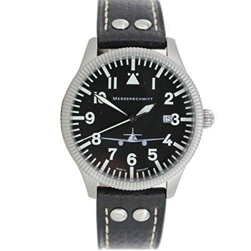 Aristo Herren Messerschmitt Uhr Fliegeruhr ME 262 41S
